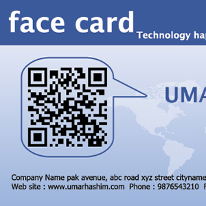 Facebook Business Card