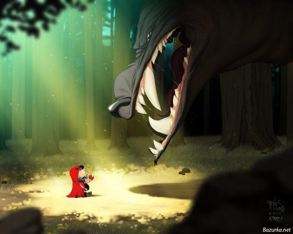 Кровавая Красная Шапочка (43 картинки) » Легендарный ...