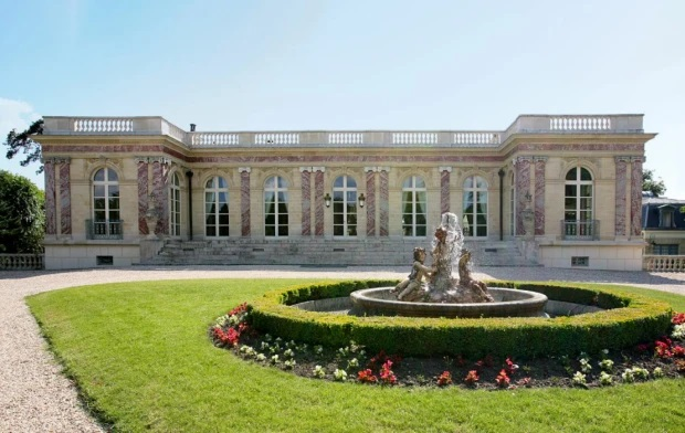 The castle was built in 1899 and former France President Charles de Gaulle stayed there during WWII
