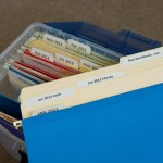 monthly file folders with BB's Brilliant Box System!