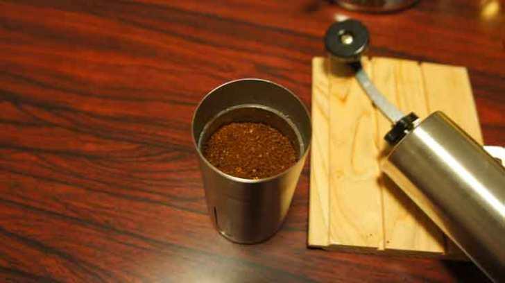 コーヒーの粉