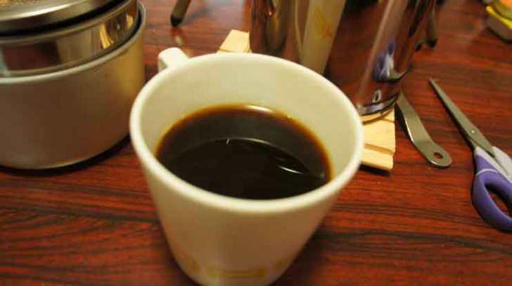 コーヒー完成2