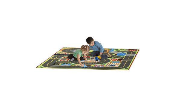 tapis de jeu grand format en ville