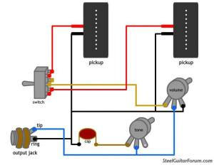 The Steel Guitar Forum :: View topic  Wiring Diagram?