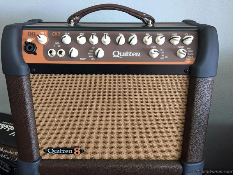 Quilter Micropro 200-8 Amp For Sale : The Steel Guitar Forum