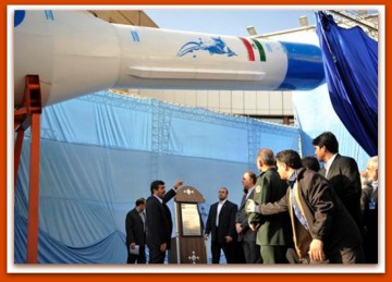 Iran Conducts Space Launch Of Long Range Missile