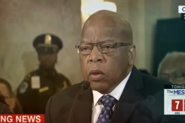 "John Lewis Said Boycott Of Trump ""First He Would Miss"" ... Also Boycotted Bush Not ""True Elected President"""