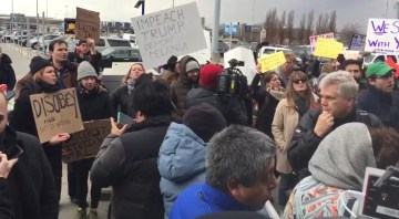 Breaking: Protests Erupt At JFK 4 After Incoming Refugees Detained (VIDEO)