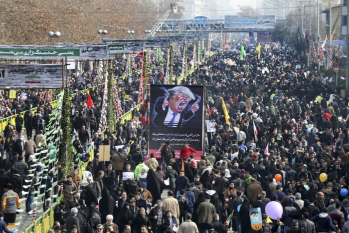 "Hundreds Of Thousands Iranians Gather Chanting ""Death To America!"""