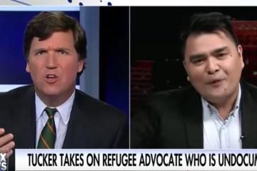Heated Debate! Watch Tucker Carlson DESTROY Anti-White Illegal Immigrant