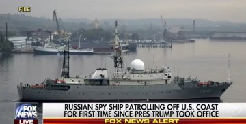 BREAKING: Russian Spy Ship Spotted Off Coast Of Delaware