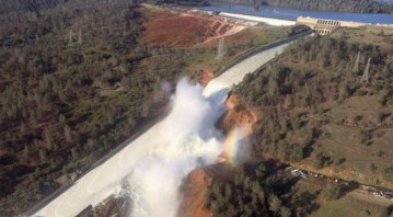 Media Linking Oroville Dam Disaster To Global Warming