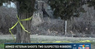 Vietnam Vet Age 70 Shoots Two Armed Robbers