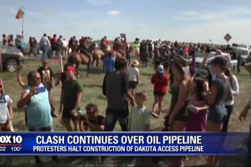 Police Officers' Spouses Terrorized With Threats From DAPL Protesters