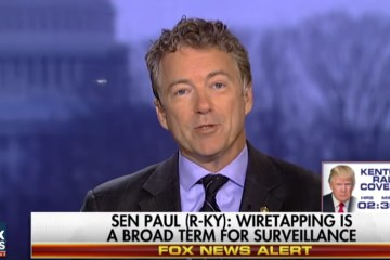 Rand Paul: Somebody Was Spying On Trump Campaign & It's Already Been Proven True (Video)