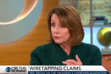 Pelosi Falsely Claims Comey Has 'Spoken Out' On Trump's Wiretap Claim