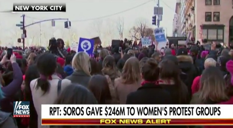 "Soros Donates $246 Million To ""Day Without A Woman"" Supporters"