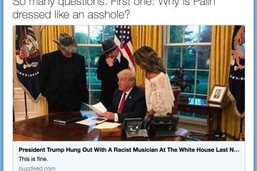 Male BuzzFeed Reporter Says Sarah Palin 'Dressed Like An A**hole'