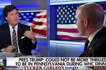 Slugfest! Tucker Blasts Head Of White House Press Association (Video)