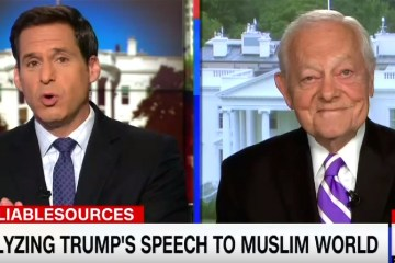 Watch CNN Reporter Embarrass Himself With Idiotic Response After Former Bob Schieffer Praises Trump's Saudi Arabia Speech
