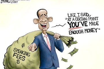 Political Cartoon: Obama's Double Standard