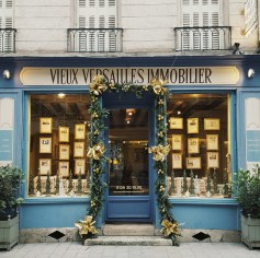 One of Versailles many charming shopfronts