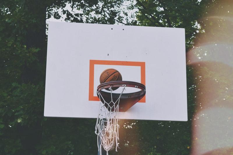 how to make a basketball backboard plywood