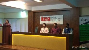 Mrs. Sree Lakshmi - Program Manager of GROW PwD addresses and kicks off the workshop