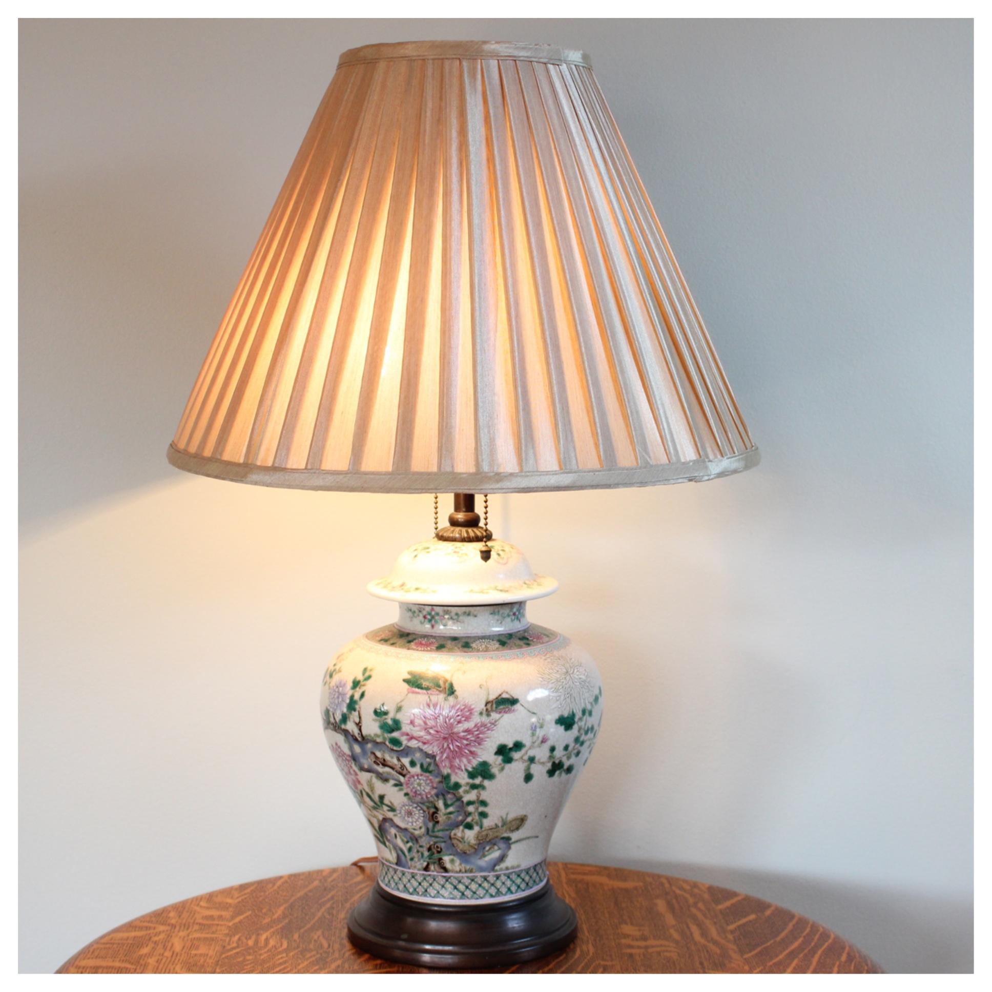 A7883 Ginger Jar Table Lamp Bogart Bremmer Amp Bradley