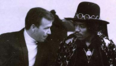 Pat O'Day with Hendrix