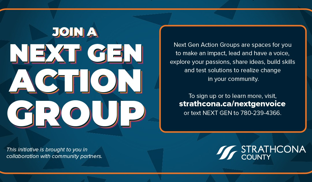 Strathcona Youth (14-24) – Join NEXT GEN Action Group