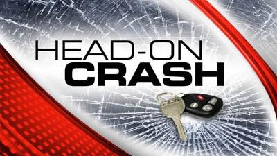 Head-On Crash sends one to the hospital