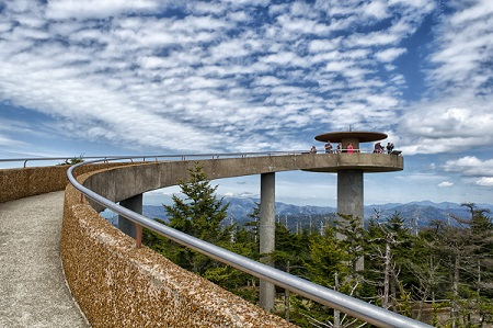 Clingmans Dome Tower Temporarily Closed June 4 through June 15