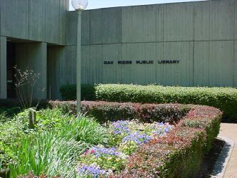 Notice of Planned Closures at Oak Ridge Public Library
