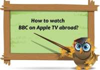 watch BBC on Apple TV abroad