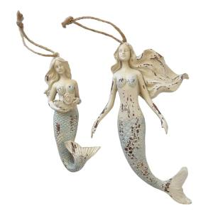 Mermaid Ornament Small