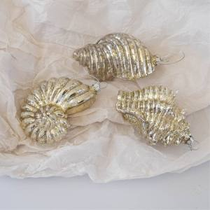 Mercury Glass Sea Shell