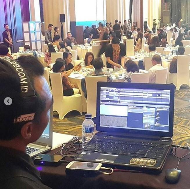 Sewa Clearcom di Hotel Tentrem Yogyakarta