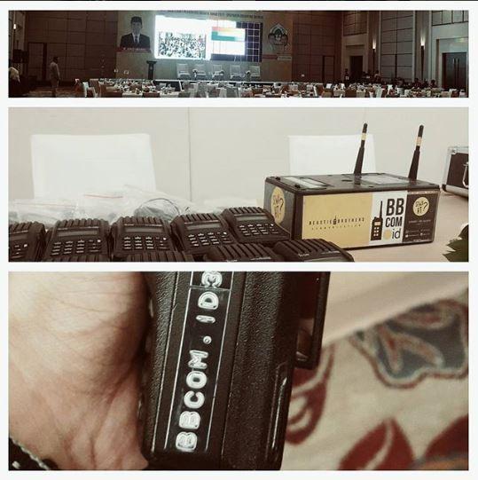 Sewa Clearcom di Hotel Fairmont Jakarta Pusat