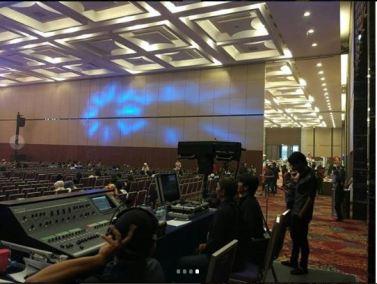 sewa clearcom di indonesia convention exhibition bsd 1