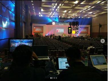 sewa clearcom di indonesia convention exhibition bsd 3