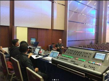 sewa clearcom di indonesia convention exhibition bsd 4