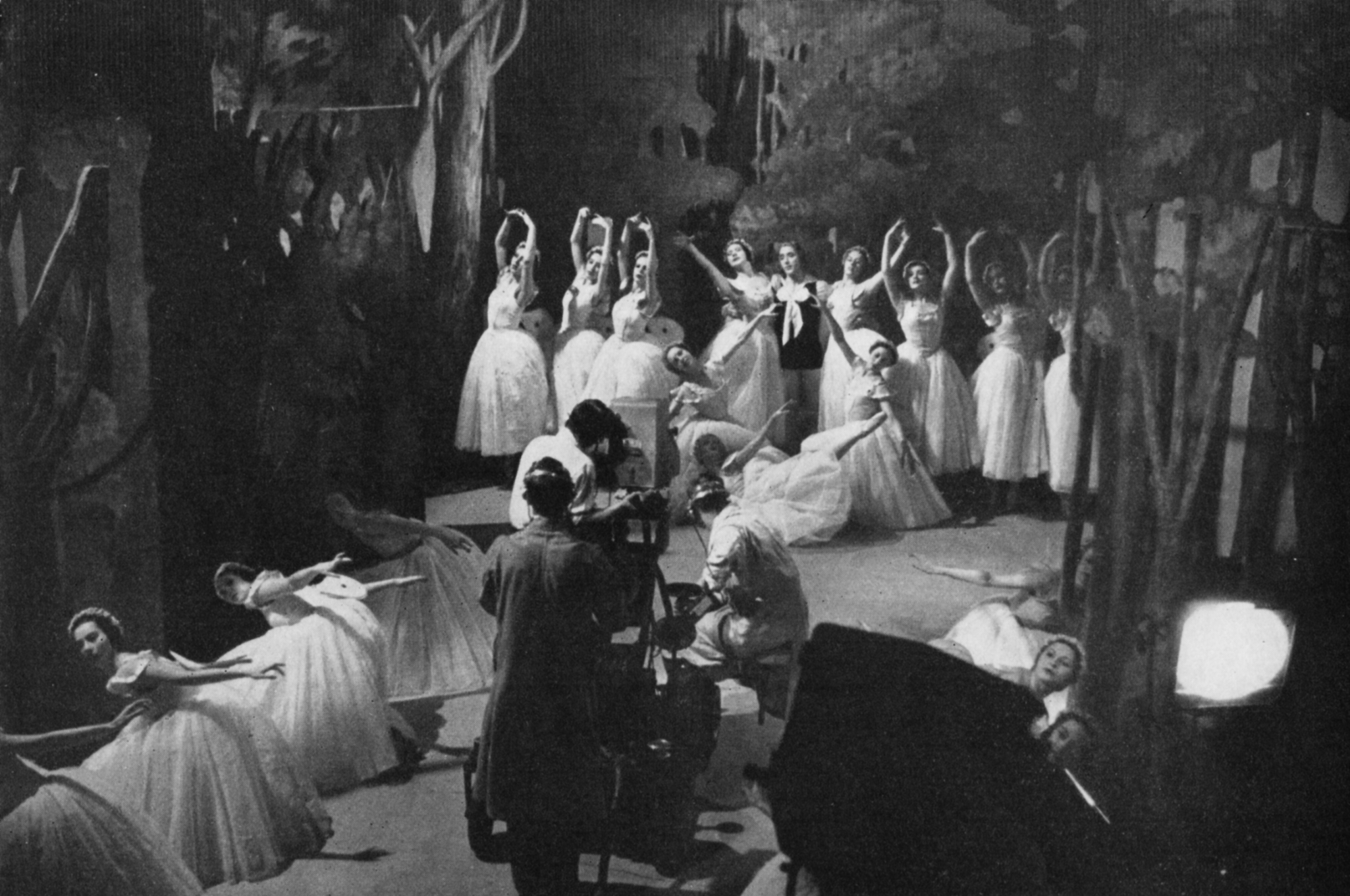 A ballet is performed