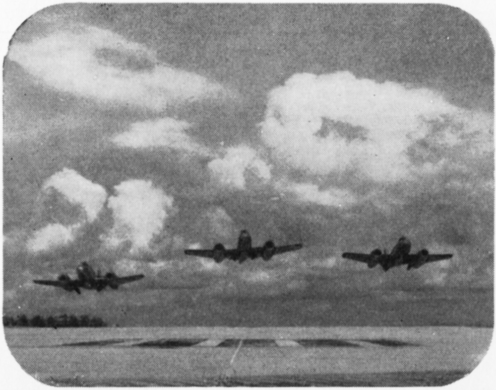 Three aeroplanes