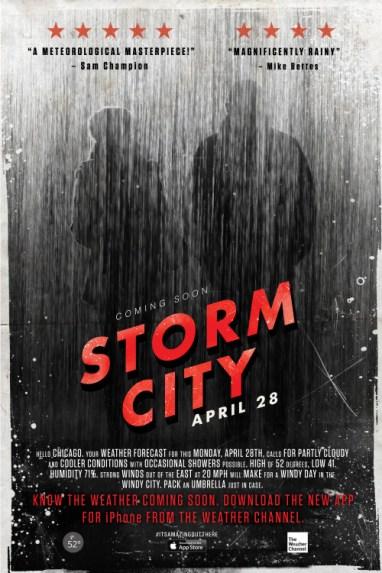 Скоро в Чикаго «Буря в городе»