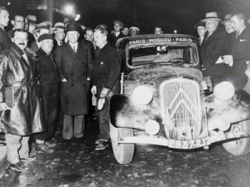 Ралли Париж – Москва –Париж. 1934 год.