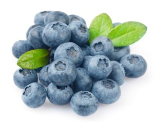 blueberries foods for strong nails