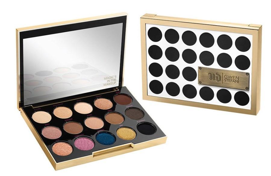 Urban Decay X Gwen Stefani Makeup Collection Eyeshadow Palette