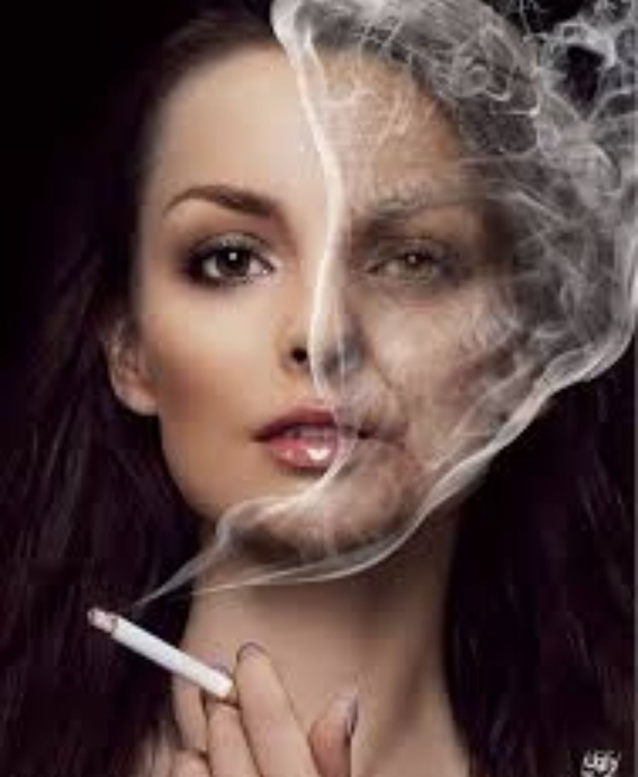 belleza y tabaco