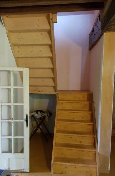 trap naar zolderverdieping